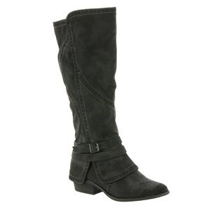 NOT RATED Yoko Round Toe Synthetic Knee High Boots